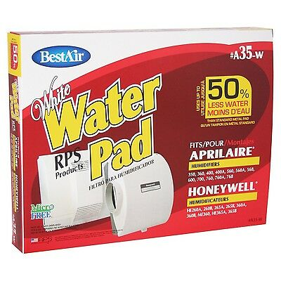 BestAir A35W Aprilaire 35 Paper Wickl Waterpad New
