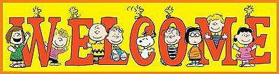 Paper Magic 849742 Eureka Peanuts General Welcome Poster New