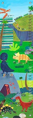 Oopsy Daisy Dinosaurs Growth Chart by Jill McDonald 12 by 42-Inch New