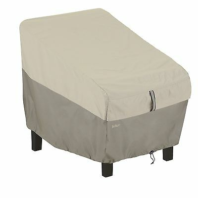 Classic Accessories 55-268-011001-00 Belltown Patio Chair Cover Grey New