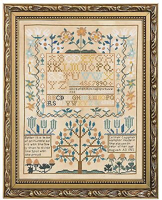 Bucilla Counted Cross Stitch Kit 12 by 15.5-Inch 45960 Smithsonian Sampler New