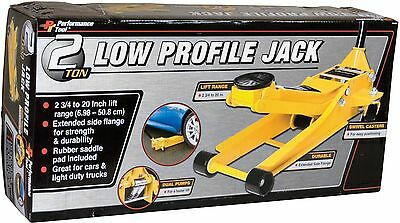 Performance Tool W1642 2 Ton Low Profile Jack New
