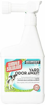 Simple Solution Yard Odor Away! Hose Spray Concentrate 32 fl. oz. New