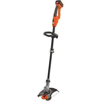 BLACK + DECKER LST400 12-Inch Lithium High Performance Trimmer and Edger ... New