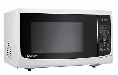 Danby 0.7-Cubic Feet Countertop Microwave White .7 cu.ft. white New