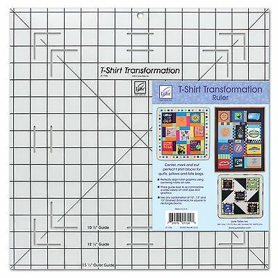 June Tailor T-Shirt Transformation Ruler 15-1/2 by 15-1/2-Inch New