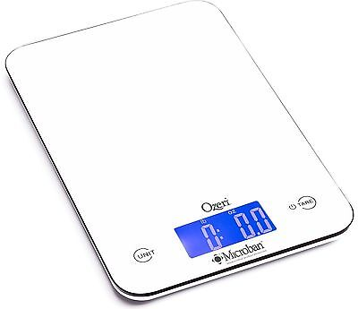 Ozeri Touch II 18 lbs Digital Kitchen Scale with Microban Antimicrobial P... New