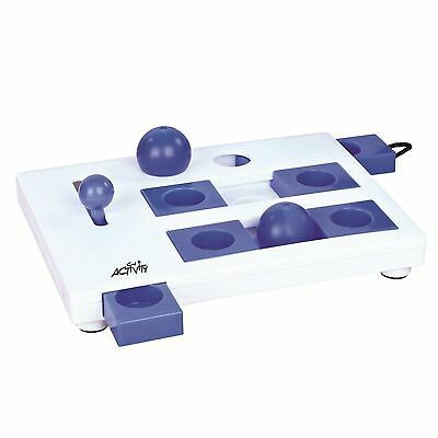 Trixie Pet Products Brain Mover Blue/White New