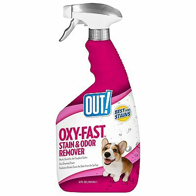 OUT! Oxy-Fast Pet Stain & Odor Remover New
