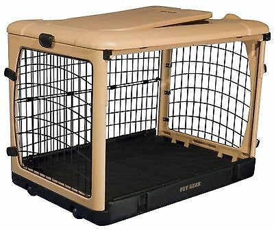 Pet Gear The Other Door Steel Crate with Fleece Pad for Cats and Dogs up ... New