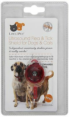 SWE Love2Pet Ultrasound Flea And Tick Shield for Dogs and Cats New
