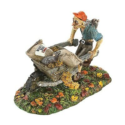 Department 56 Snow Village Halloween Rats! There Goes My Grain! Accessory... New