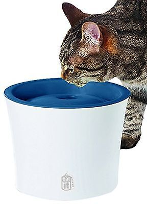 Catit Design Senses Fountain with Water Softening Filter for Cats and Dogs New