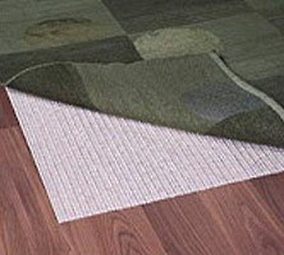 Grip-It Rug Stop Natural Non-Slip Pad for Rugs on Hard Surface Floors 2 b... New