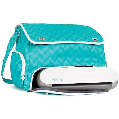Silhouette Portrait Tote Teal New