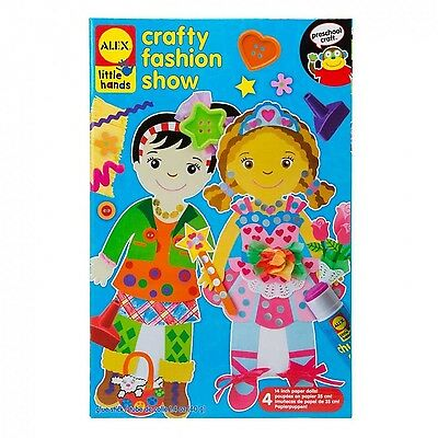 ALEX Toys - Early Learning Crafty Fashion Show - Little Hands 1421 New