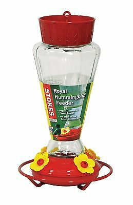 Stokes Select Red Royal Hummingbird Feeder with Four Feeding Ports 28 fl ... New