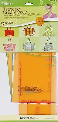 Clover Trace and Create Bag Templates with Nancy Zieman Florida Bag Colle... New