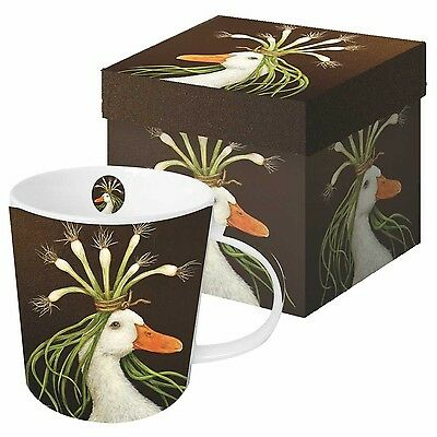 Paperproducts Design Gift Boxed Porcelain Mug 13.5 oz Vicki Sawyer-Mirand... New