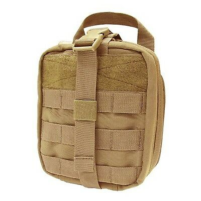 Condor Rip-Away EMT Pouch (Tan 8 x 6 x 3.5-Inch) New