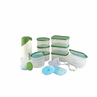 Fit & Healthy 106kit3 Kit with Snacker and Body Tape Measure New