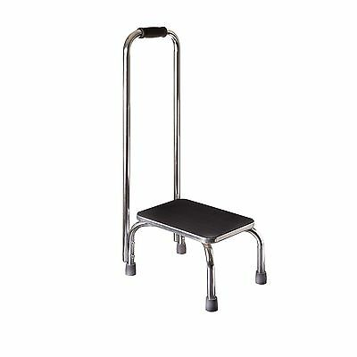 DMI Safety Step Stool with Handle Silver and Black New