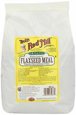 Bob's Red Mill Organic Flaxseed Meal 907 gm New