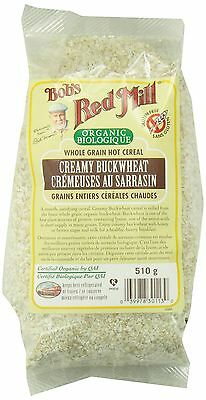 Bob's Red Mill Organic Creamy Buckwheat Hot Cereal 510 gm New