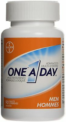 Bayer One A Day Specially Formulated Men Multi-Vitamin Tablet 90 count New