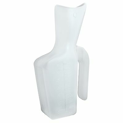 MedPro Portable Female Urinal 1000 cc/1-Litre Capacity New