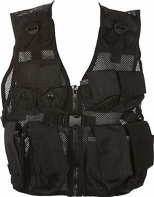 Modern Warrior Airsoft and Paintball Accessory-Junior Tactical Vest Fits ... New