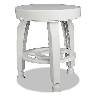 HealthSmart Rotating Bath and Shower Stool Chair with Germ-Free Protectio... New
