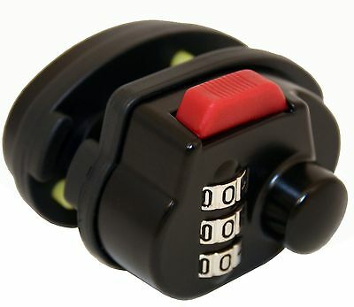 FJM Security SX-105 3-Dial Combination Gun Trigger Lock With 1000 Possibl... New