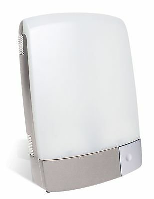 Carex Sunlite Bright Light Therapy Lamp Silver New