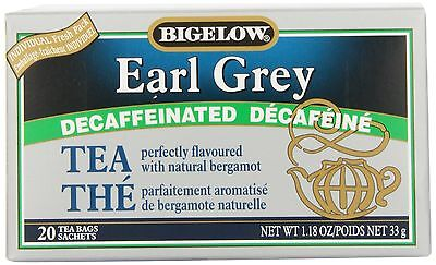 Bigelow Tea Earl Grey Decaf (Pack of 6) New