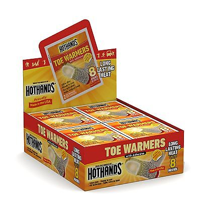 HotHands Toe Warmers (40 pairs) 40 Pairs New