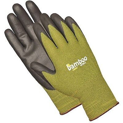Atlas C5371S Bamboo Liner Nitrile Palm Glove Small (Green) New