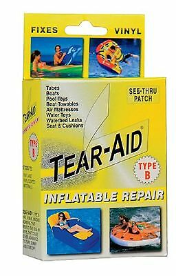 Tear-Aid Repair Patches Type B Vinyl Inflatable Kit Yellow 1Pack New