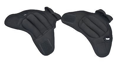 ProSource Pair of Fitness Heavy Duty 1.8 Kg Neoprene Weighted Sculpting G... New