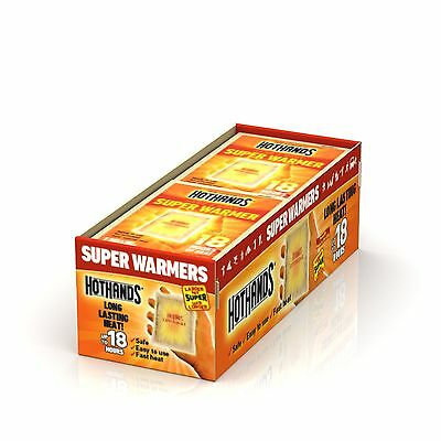 HotHands Body & Hand Super Warmer (40 count) New