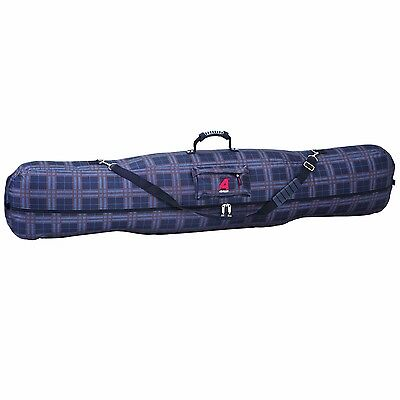 Athalon Fitted Snowboard Bag Plaid 170cm New