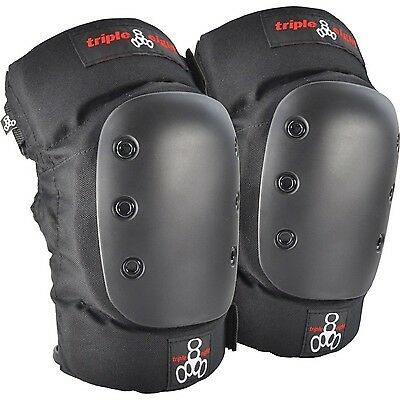 Triple Eight 60083 KP 22 Knee Pads Black Medium New