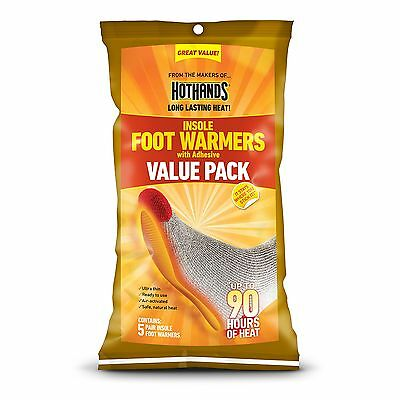 HotHands Insole Foot Warmer Value Pack (5-Pair) New