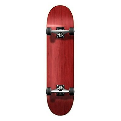 YOCAHER Blank Complete Skateboard 7.75-Skateboards Red New