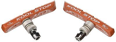 Kool Stop MTN Mountain Bicycle Brake Shoes Threaded Salmon New