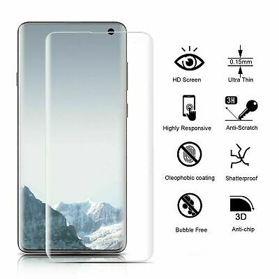Vitre Film Protection Ecran Tpu Full Cover 3D Samsung Galaxy S9 S8 S7 Egde Note8