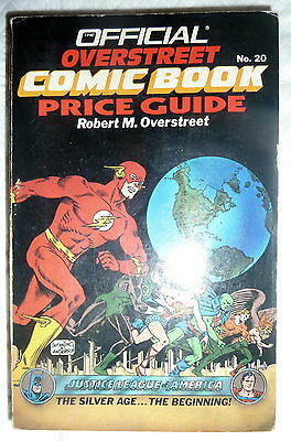 Official Overstreet Comice Book Price Guide #20