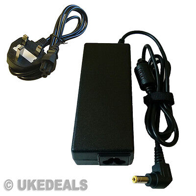 Charger Adapter Asus X550C X550E X550LN X550LD X550L laptop + LEAD POWER CORD UK