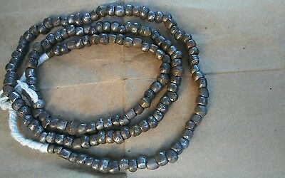 Antique Old Silver Round Metal Beads Trade Beads