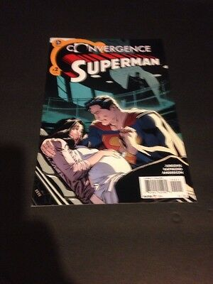 DC Convergence Superman #2 - First Appearance Of Rebirth Jonathan Kent - NM